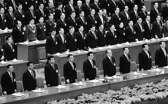 17-ый Национальный конгресс компартии Китая, 21 октября 2007 года в Пекине. Следующий 18-й конгресс запланирован на осень 2012 года. Фото: Guang Niu/Getty Images