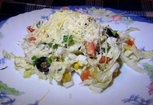 Смачний салат із овочів 'Вітамінка'. Фото: Карина Сафєдінова/Велика Епоха