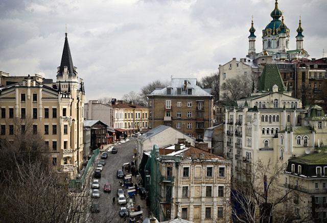 Достопримечательности Киева: Андреевский спуск. Фото: Владимир Бородин/The Epoch Times Украина