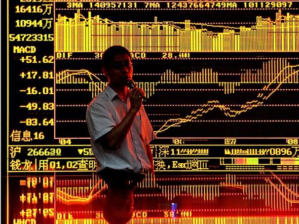 Фондовый рынок в Шанхае