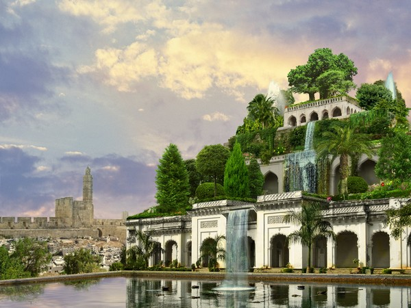 Дизайн сада: знаменитые сады Семирамиды.
