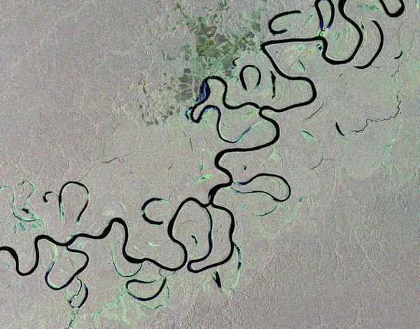 Фотографии космоса. Журуа — правый приток Амазонки.