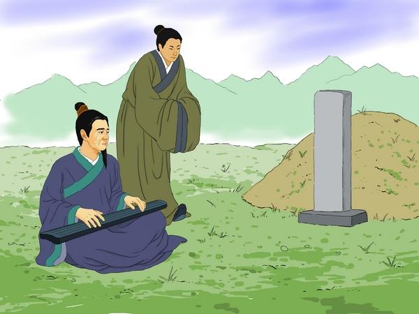 Китайская идиома Высокие горы и бегущая вода